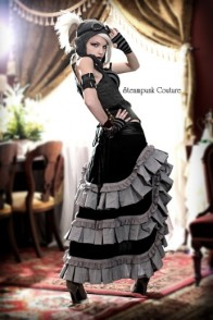 SC gray skirt