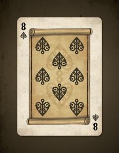 8 card
