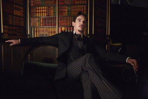 Dracula in pin stripes