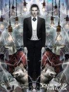 Dracula character poster