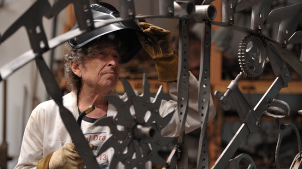 Bob Dylan in his studio (source: Gizmodo)