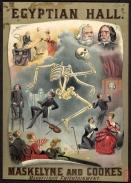 illustrated montage of magic tricks