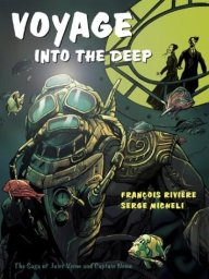 Francois Riviera's graphic novel features Nemo and Verne