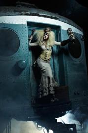 ANTM winner Laura Steampunk photoshoot