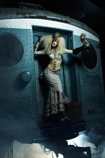 ANTM winner Laura Steampunk photoshoot