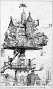 Robida aerial house