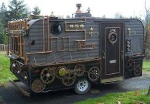 Steampunked Trailer