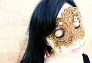 Urban thread mask on a model