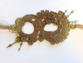 Urban Thread steampunk lace mask