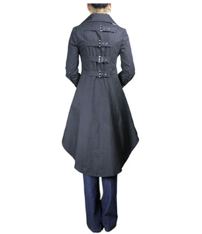 Blueberry Hill buckle coat