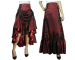 Blueberry Hill satin skirt