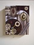 Irene Adler Steampunk Clock