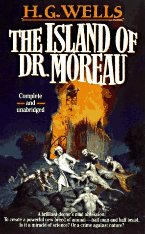 Island of Dr. Moreau cover