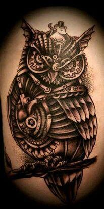 owl tattoo