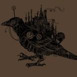 Steampunk Crow Shanalogic