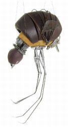 Steampunk bird by Stephanie Halleux