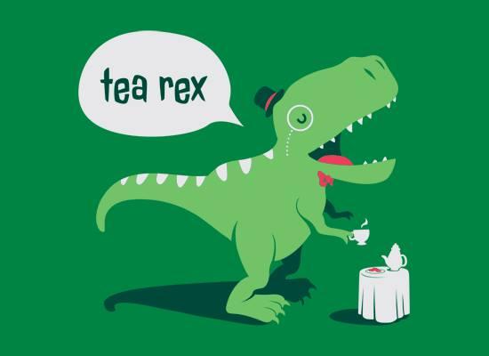 Tea Rex, artist unknown