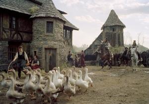 Marbaden village set