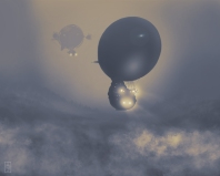 Airships in the Fog