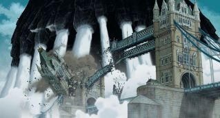 Castle destroys Tower bridge