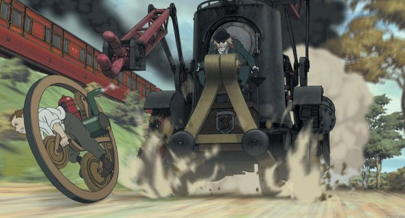 Monowheel from Steamboy