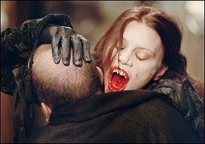 Mina as vamp