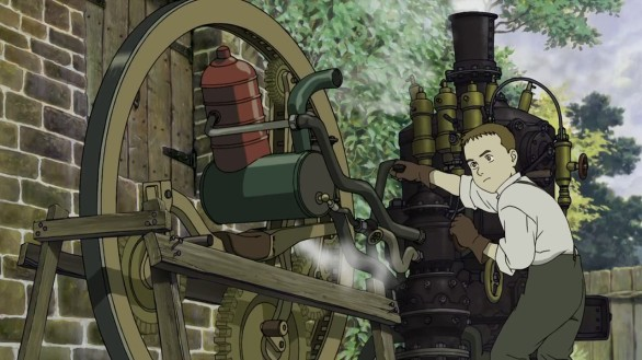Steamboy monowheel