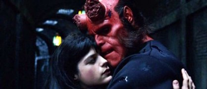 Hellboy and Liz