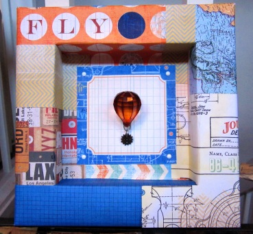 """Fly"" Shadowbox by ForWhomTheGearTurns"