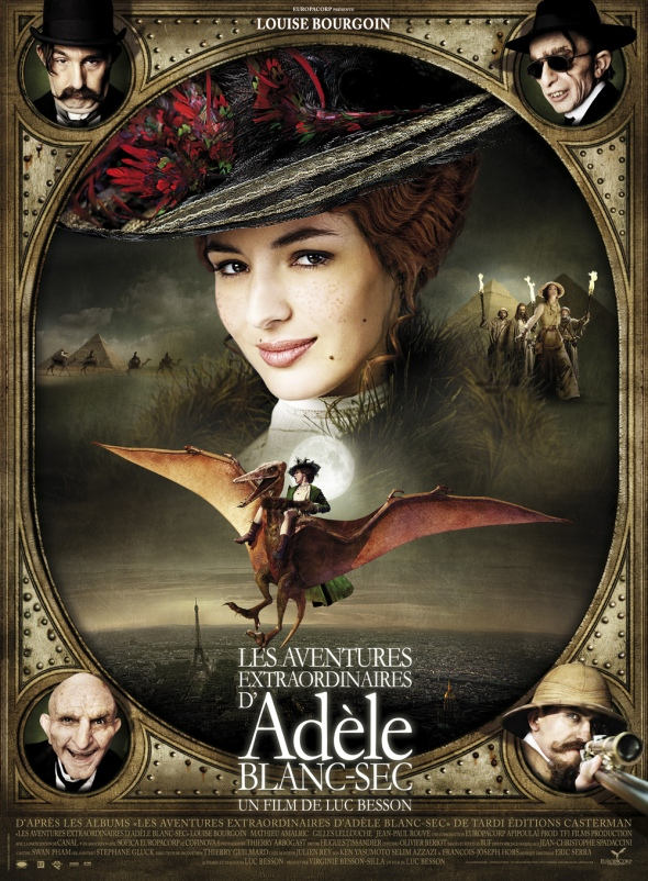 Poster for the Extraordinary Adventures of Adele Blanc-Sec