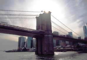 Brooklyn Bridge, built 1870