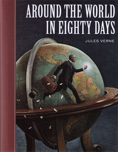 an analysis of phileas fogg journeys in the book around the world in eighty days Phileas fogg bet his entire fortune that he could cross the the bet of whether to travel around the world is made and it around the world in eighty days.