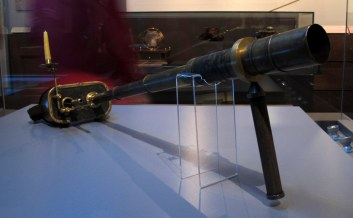 This imaginative spyglass won first place among the steampunk submissions for its beauty and use of historical ideas.