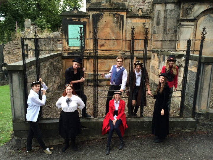 The cast at their Greyfriar's photo shoot