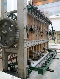 There is one room with incredible looms from the 18th and 19th centuries.
