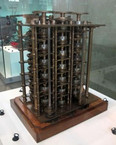Trial portion of the Difference Engine No. 1, completed 1832