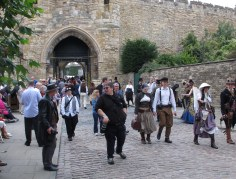 It isn't called Castle Square for nothing. There is totally a castle in Lincoln and you get free admission with your Asylum wristband