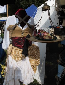I loved this method of displaying a hat
