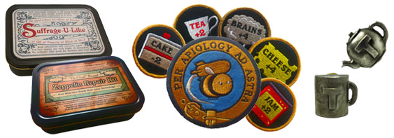 I loved the patches!