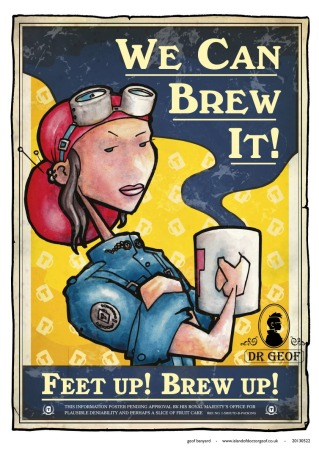 Geof We Can Brew It poster