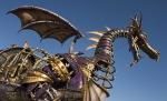 Steampunk Malificent dragon byDisney