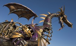 Steampunk Malificent dragon by Disney