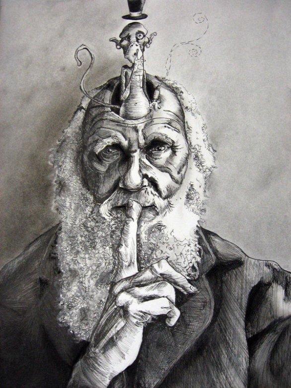 Charles_Darwin_by_CreateYourArt