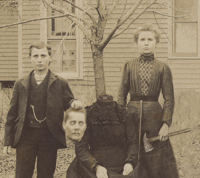 Headless Portraits From the 19th Century (1)