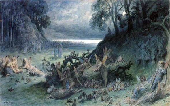 The Fairy Festival Gustave Dore