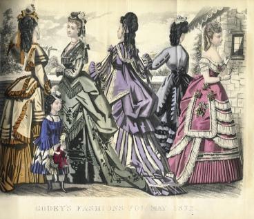 Godey Ladys Book 1872