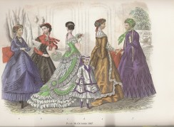 plate-38-october-1867 Godey Ladys Book