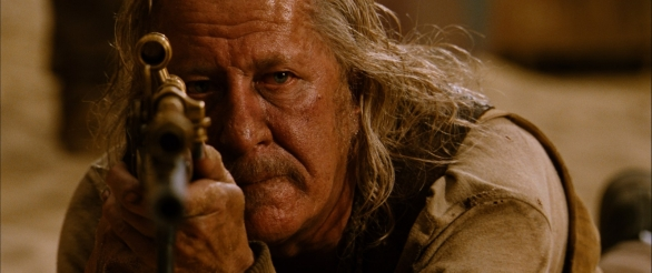 Geoffrey Rush sobers up and takes his place as an old-timey sniper
