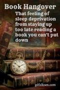 Book hangover meme