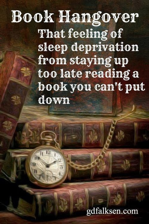 Book hangover meme | For Whom the Gear Turns